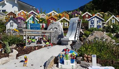 Kasfjord City -Miniature city