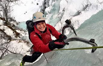 Ice climbing introduction